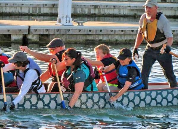 Tacoma Dragon Boat water fun
