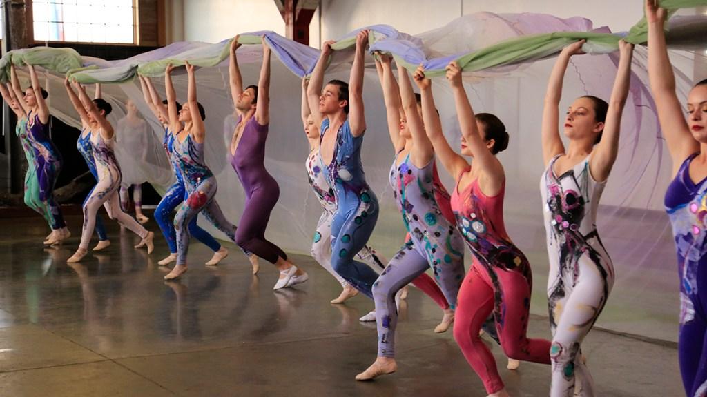 tacoma city ballet dancer line