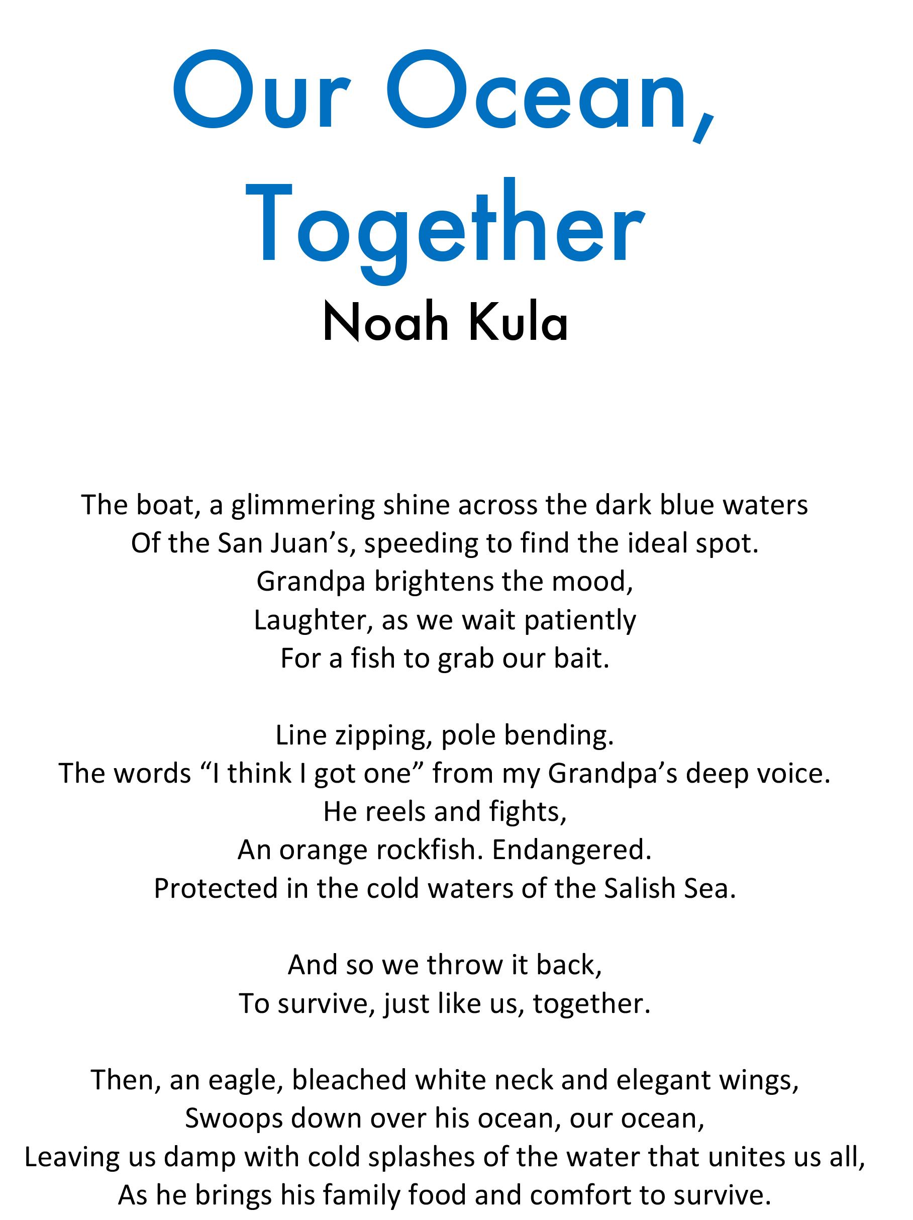 ocean poem
