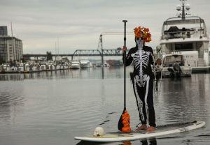 skeleton paddler