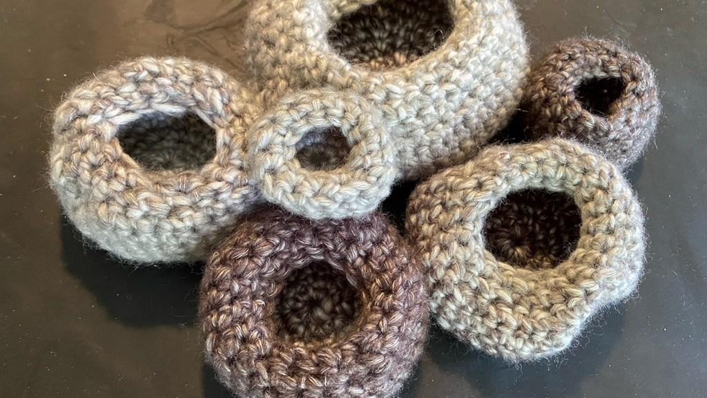 crochet barnacles