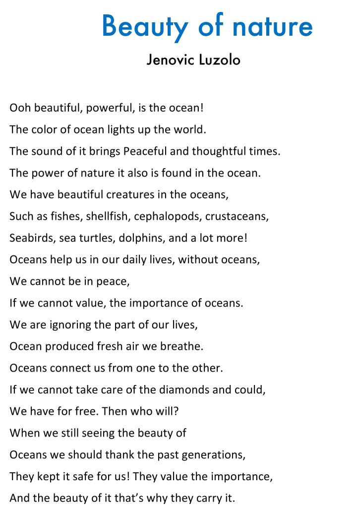 beauty of nature poem