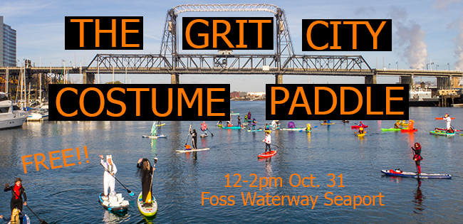 grit city costume paddle graphic