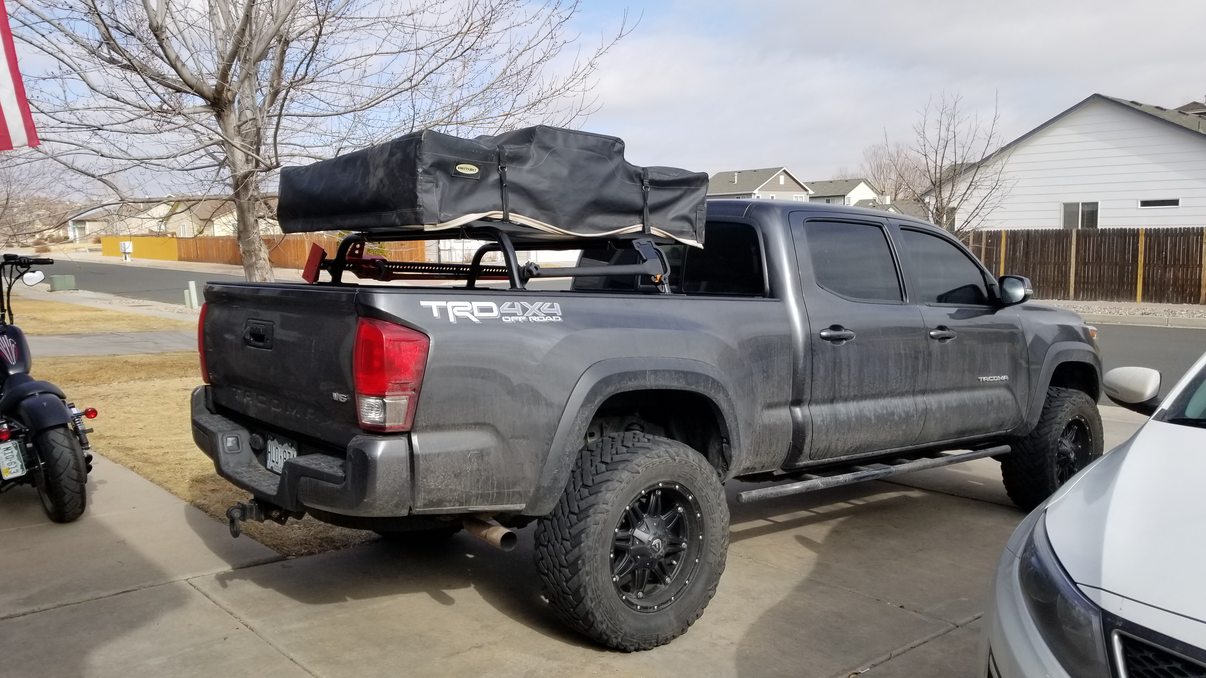 img of rack ford forum truck racks community bed cargo and folding cover