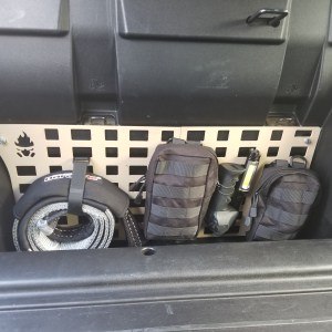 NEW Behind the Seat Molle Panels