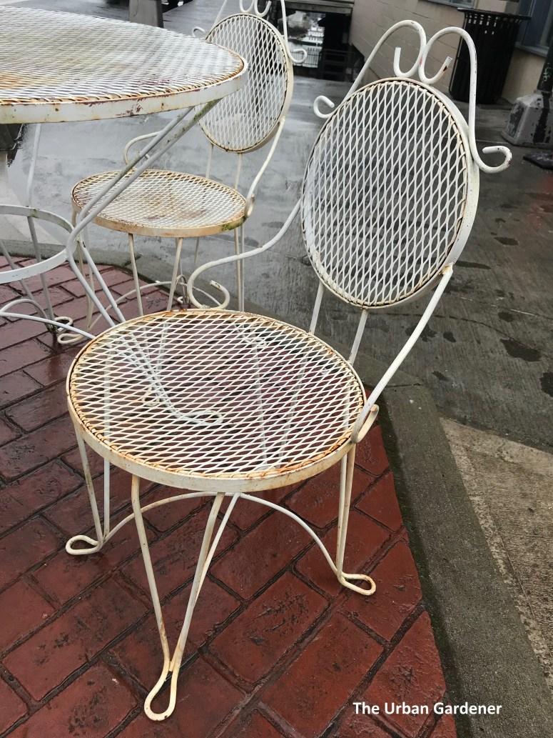 1960 s wrought iron patio set the