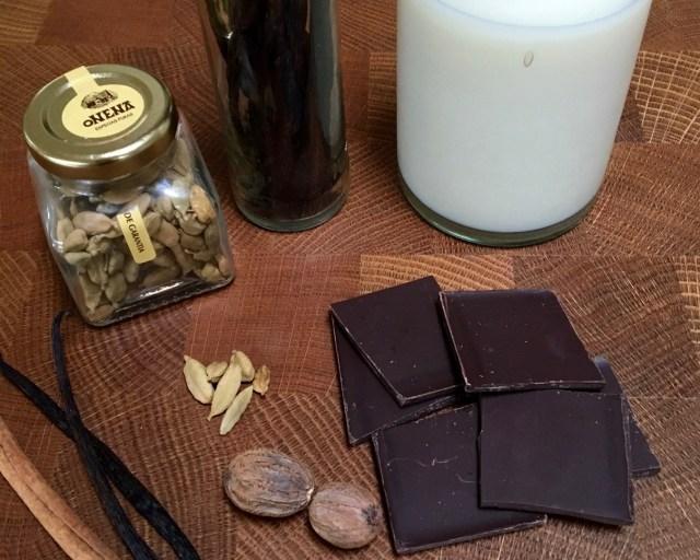 krydret varm kakao