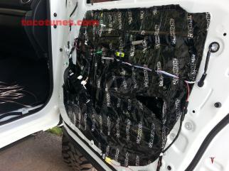 2014 Toyota Tundra Stereo Amp Subwoofer Installation San Antonio (3)
