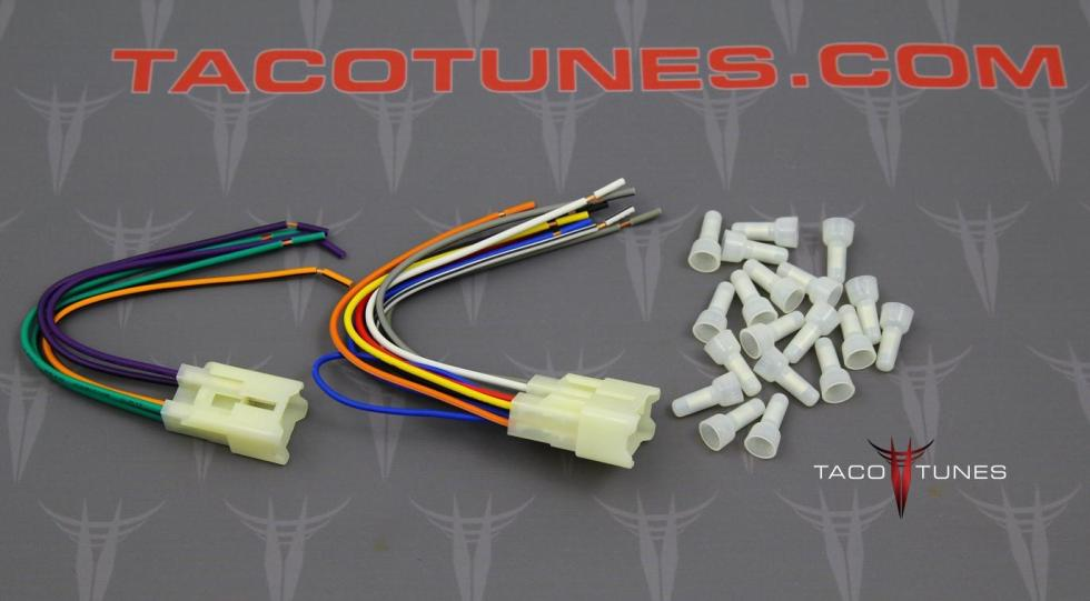 2015 tacoma stereo wiring harness 2015 image toyota tacoma stereo harness install aftermarket stereo on 2015 tacoma stereo wiring harness