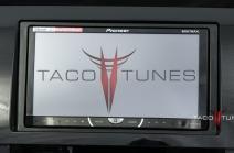 Toyota Tundra Gloss Black 2007+ dash stereo installation kit