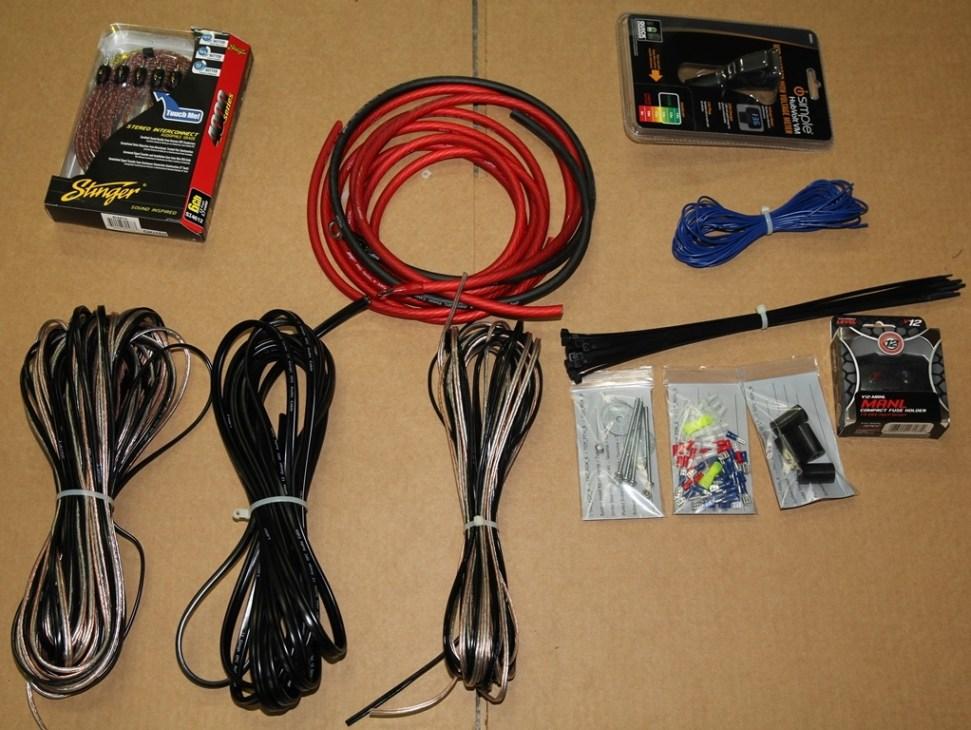 Toyota Tundra Amp Speaker Amp Installation Kit Taco Tunes