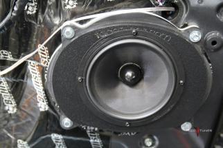Juans Toyota Tundra CrewMax Stereo System Upgrade San Antonio TX