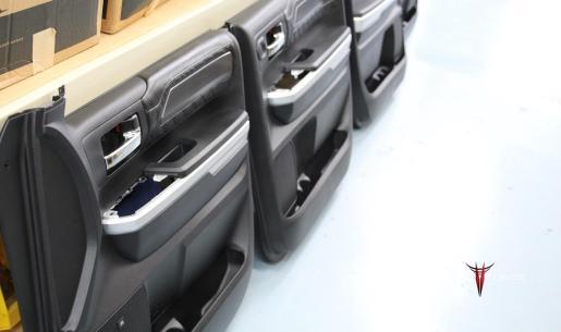 Toyota Tundra CrewMax Door Panels