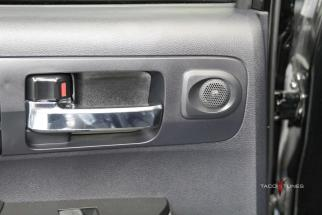 Toyota Tundra CrewMax Rear Door Tweeter Close up