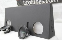 Toyota Tundra Dual Subwoofer Box 10 inch