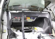 Toyota Corolla Rear Deck Speaker Installation Picture
