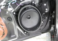 Toyota Camry Front Door Stock Speaker 2012-2017 Close Up Picture