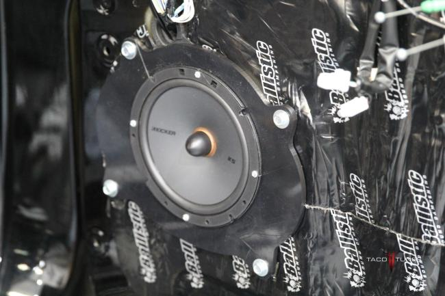 2015 Toyota Tundra CrewMax 1794 Edition Kicker KSS67 Tweeters Speakers