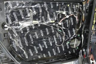 2015 Toyota Tundra CrewMax Ballistic Matting Sound Deadener Installation