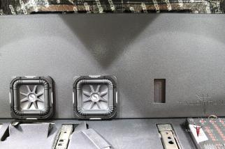 2015 Toyota Tundra CrewMax Kicker L7 Subwoofer Box