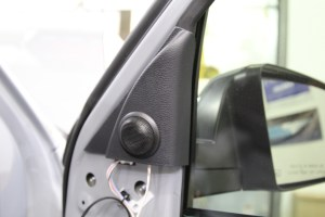 Toyota Tundra Tweeter Replacement Installation Sail Panel