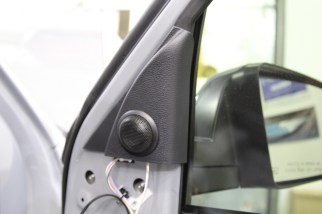 Toyota Tundra Tweeter Replacement Installation Sail Panel