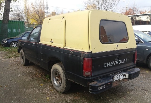 Chevrolet S10 single cab first generation