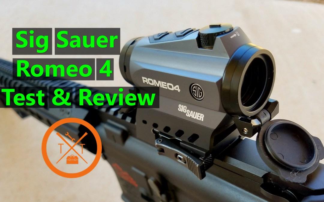 Sig Sauer Romeo 4 Review!