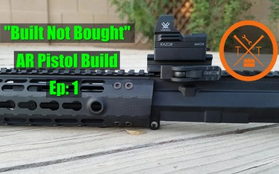 Aero Precision M4E1 AR Build: Parts List and Tools!