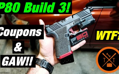 INSANE! 💥Affordable Custom Glock 19 Polymer80 Frames!!