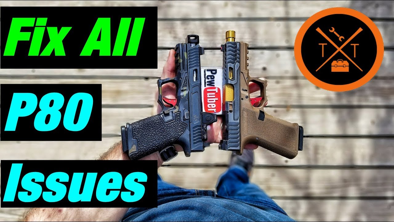 Ultimate Polymer 80 Glock Troubleshooting Guide