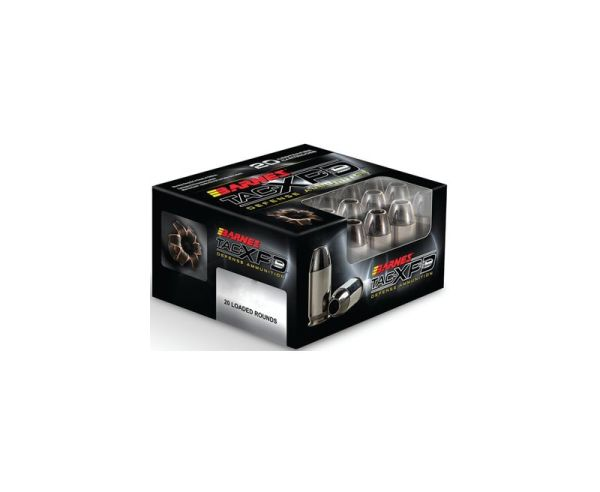 Barnes Bullets TAC-XPD .380 ACP 80GR HP 20Rds