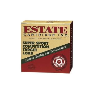 Estate Super Sport Competition Target Load 12GA 2.75-inch 1-1/8oz #8 Shot 25rds