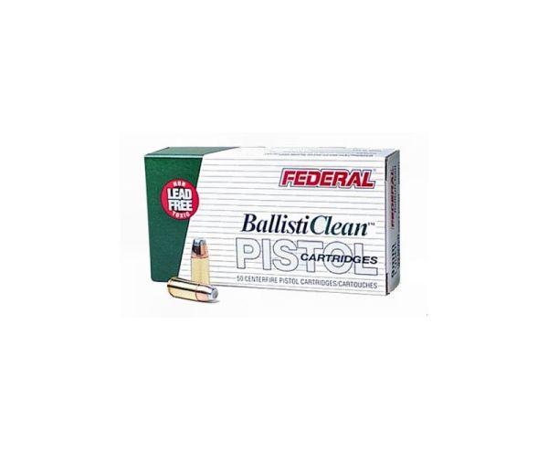 Federal BallistiClean Brass 9mm 100-Grain 50-Rounds LFF