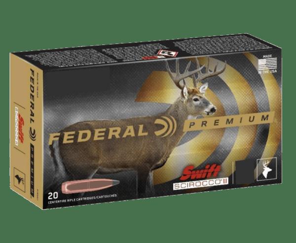 Federal Premium Brass .300 Win Mag 180 Grain 20-Rounds SSII