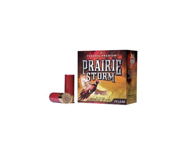 Federal Premium Prairie Storm 12 GA 3 Inch 1 5/8 oz #4 Lead Shot 25Rds