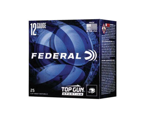 """Federal Top Gun Sporting 12 Gauge Ammunition 2-3/4"""""""