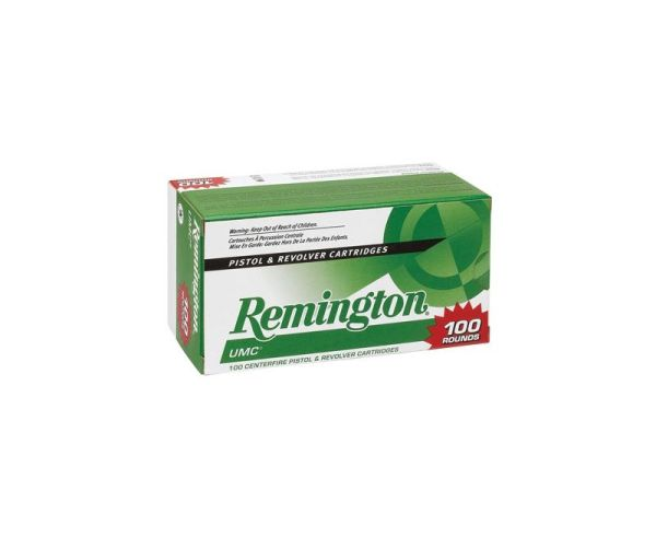 Remington Ammunition UMC 9mm 115GR JHP 100Rd Value Pack