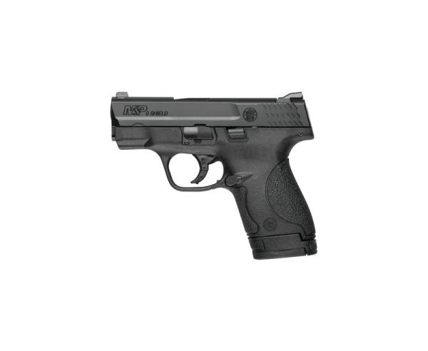 Smith and Wesson M&P9 Shield Black 9mm 3.125-inch 8rd 10 LB Trigger MA Complaint