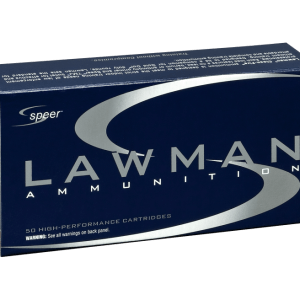 Speer Lawman Brass 9mm 115 Grain 50-Rounds TMJ