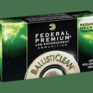 Federal BallistiClean Brass .45 ACP 155 Grain 50-Rounds HRTF