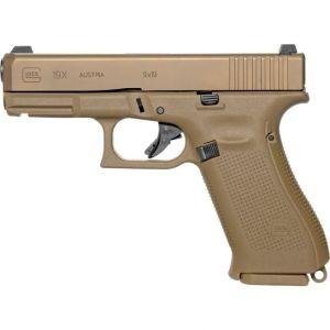 Glock 19X Gen 5 Flat Dark Earth 9mm 4.02