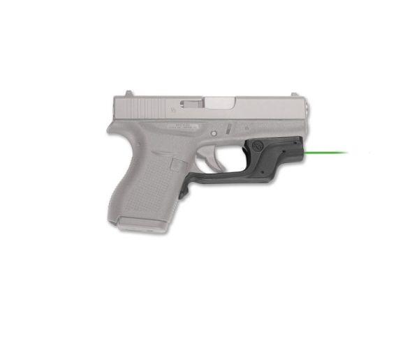 Crimson Trace Laserguard Green Laser for Glock 42 and 43 Standard Packaging