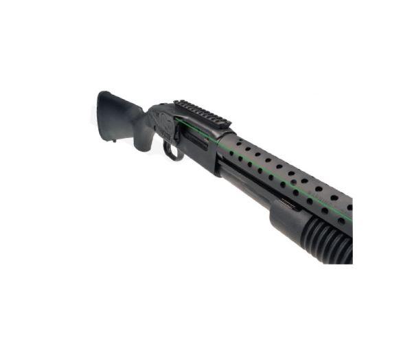 Crimson Trace LaserSaddle Green Laser for Mossberg 500/590/590 Shockwave 12 Gauge Shotguns