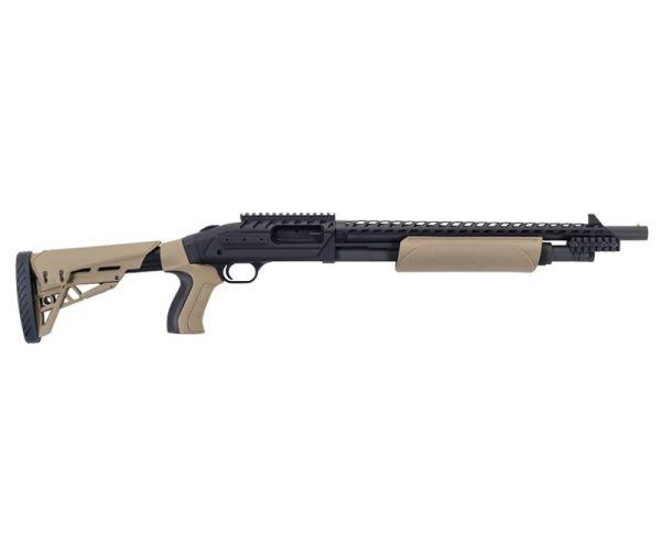 Mossberg 500 ATI Scorpion Pump Shotgun Flat Dark Earth 12 Ga 18.5 inch 6 rd