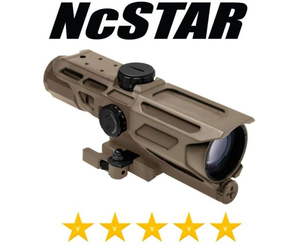 NcStar Mark III Tactical Compact Scope Gen 3, P4 Sniper, Reticle