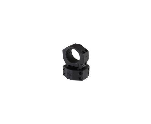 "Seekins Precision Scope Ring, .92"" Medium High, 30mm, 4 Cap Screw, Black Finish"