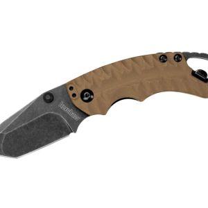 Kershaw Shuffle II Tan Folding Knife - 2.375