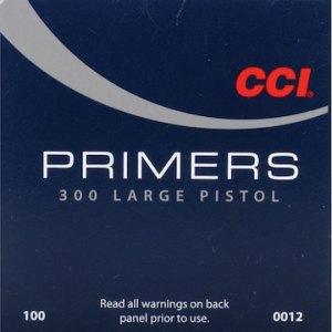 cci large pistol primers