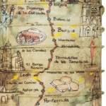 الطريق إلى سانتياغو/ نقاط جغرافية